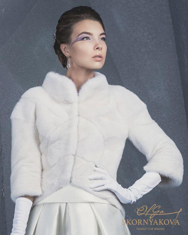 "Жакет из норки в стиле ""ар-деко"" Skornyakova Design."