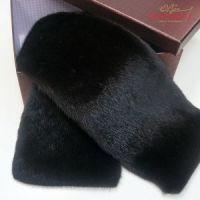 Подарок мужчине меховой шарф из норки